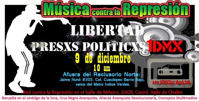 musica contra la represion
