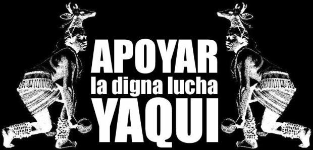 solidaridad con yaquis