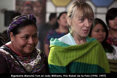 rigoberta menchu y jody williams