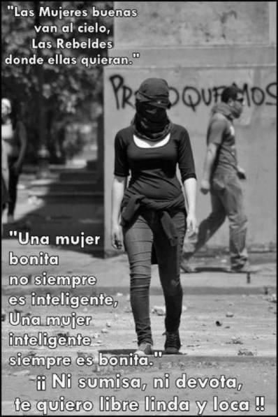 mujeres rebeldes