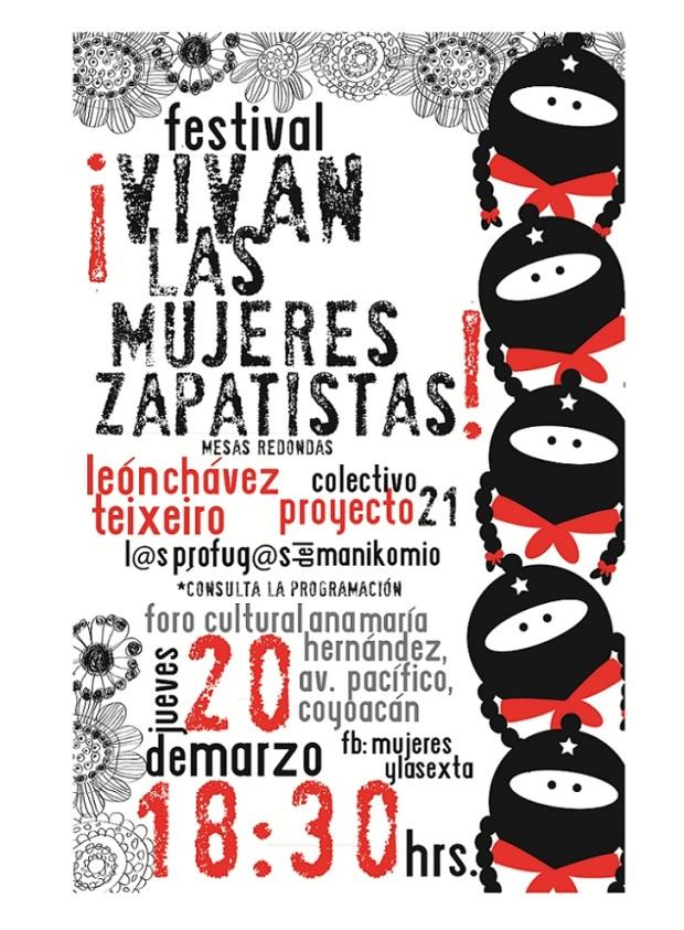 vivan las mujeres zapatistas