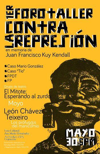 foro contra la represión