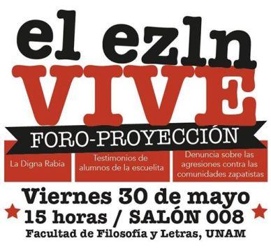 foro proyeccion EZLN