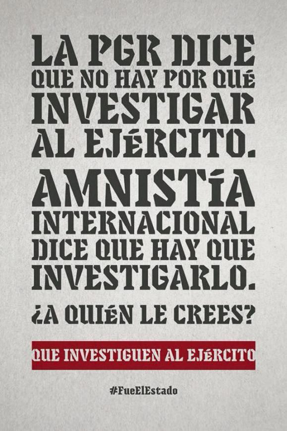 ayotzinapa y amnistia i