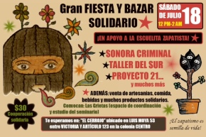 cartel bazar julio