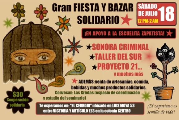 cartel bazar julio