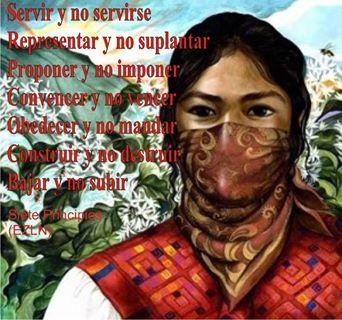 Resultado de imagen para propuesta CNI-EZLN