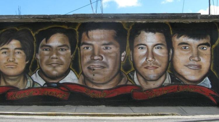 presos politicos san pedro tlanixco y en el mural falta Dominga